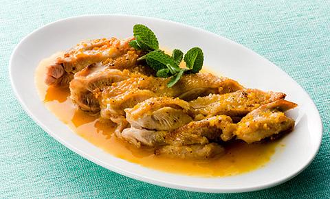 鶏肉ソテー デコポンソース レシピ