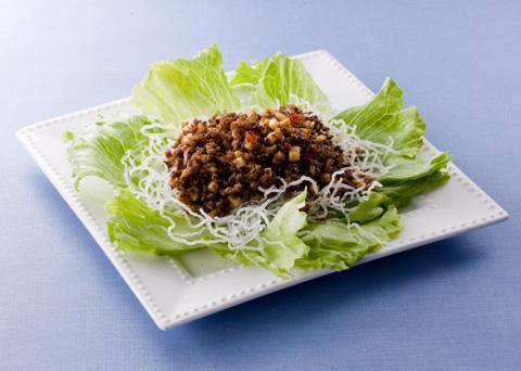 肉味噌のレタス包み レシピ