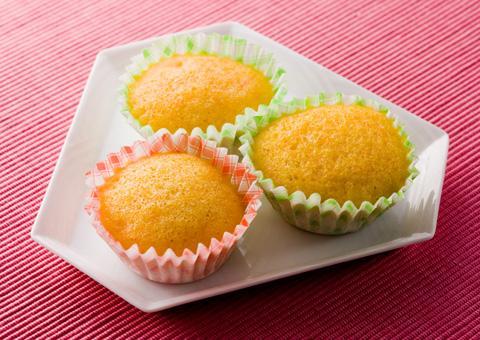 人参の蒸しケーキ(直径5センチ×5個) レシピ