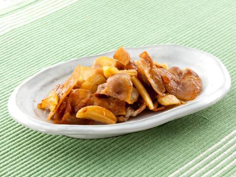 豚バラのにんにく醤油炒め レシピ