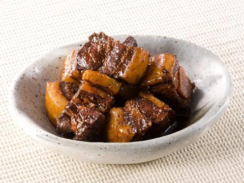 豚肉の黒酢煮 レシピ