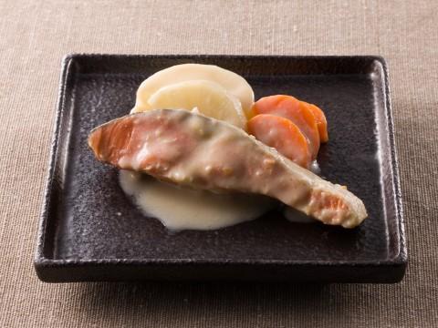 塩鮭の酒粕煮 レシピ