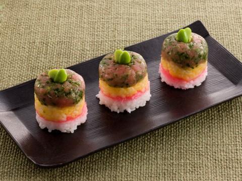 ひな寿司ケーキ レシピ