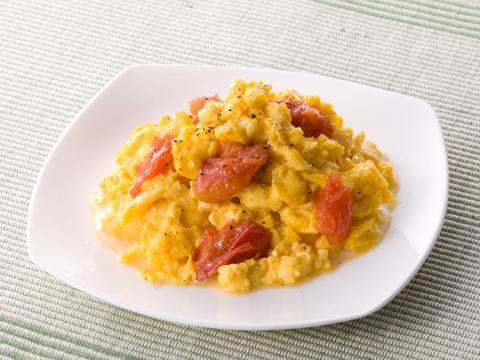 トマトと卵の炒めもの レシピ