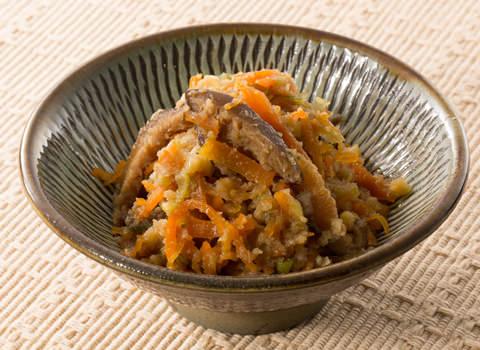 卯の花の炒り煮 レシピ