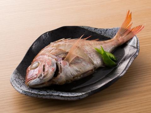 鯛の塩煮  レシピ